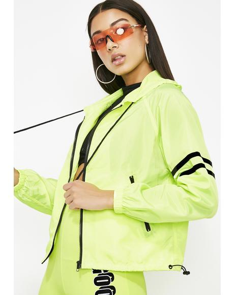 Kush No Plans Windbreaker Jacket