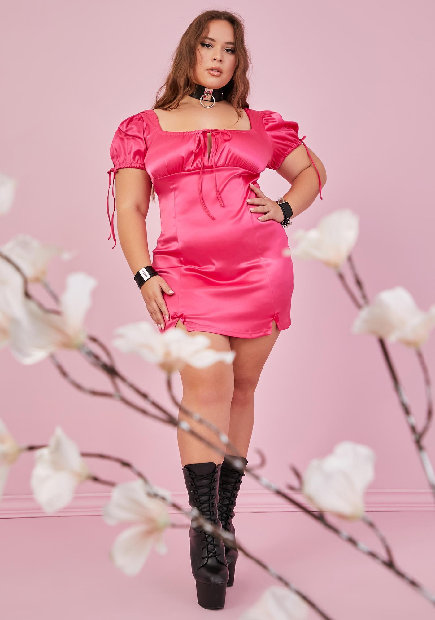 Sugar Thrillz Real Motives For Love Bodycon Dress