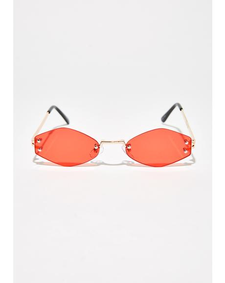 Love Never Hesitate Tiny Sunglasses