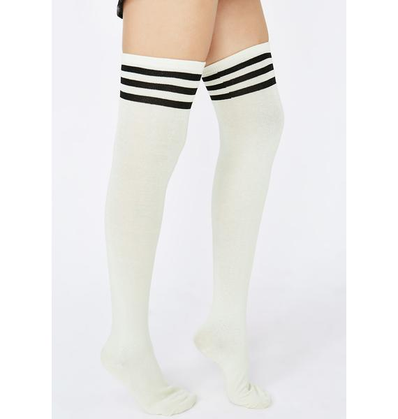 Got Game Thigh High Socks