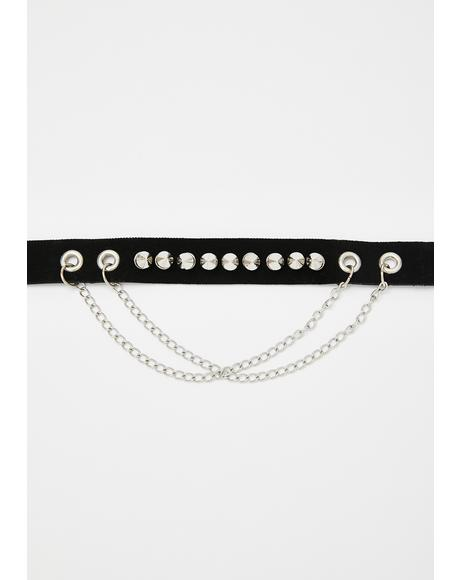 Major Hazard Studded Choker