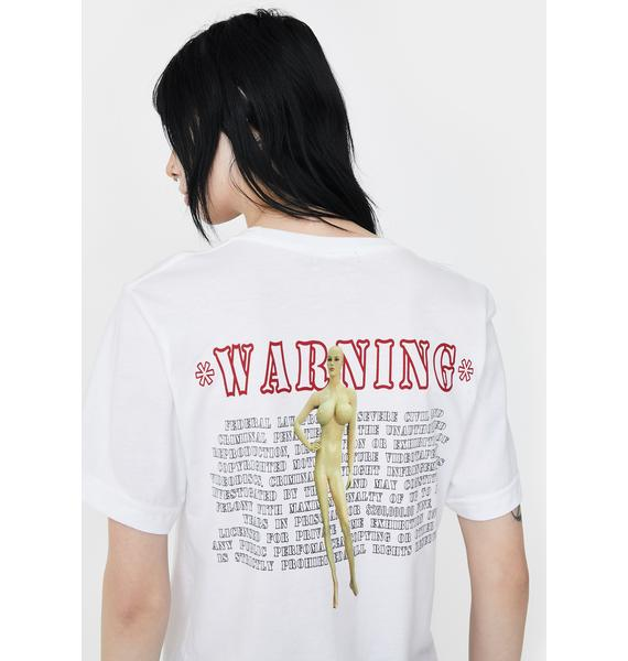 Funeral Warning Graphic Tee