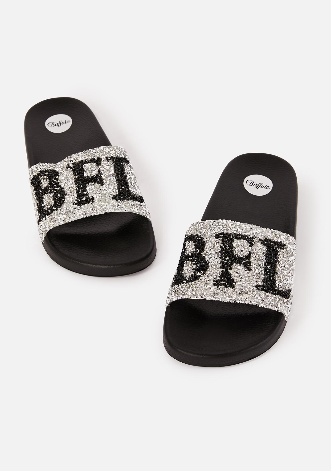 Buffalo Silver Joelle Slide Sandals