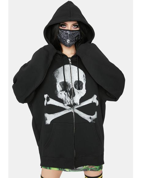 Deadly Doom Zip-Up Hoodie