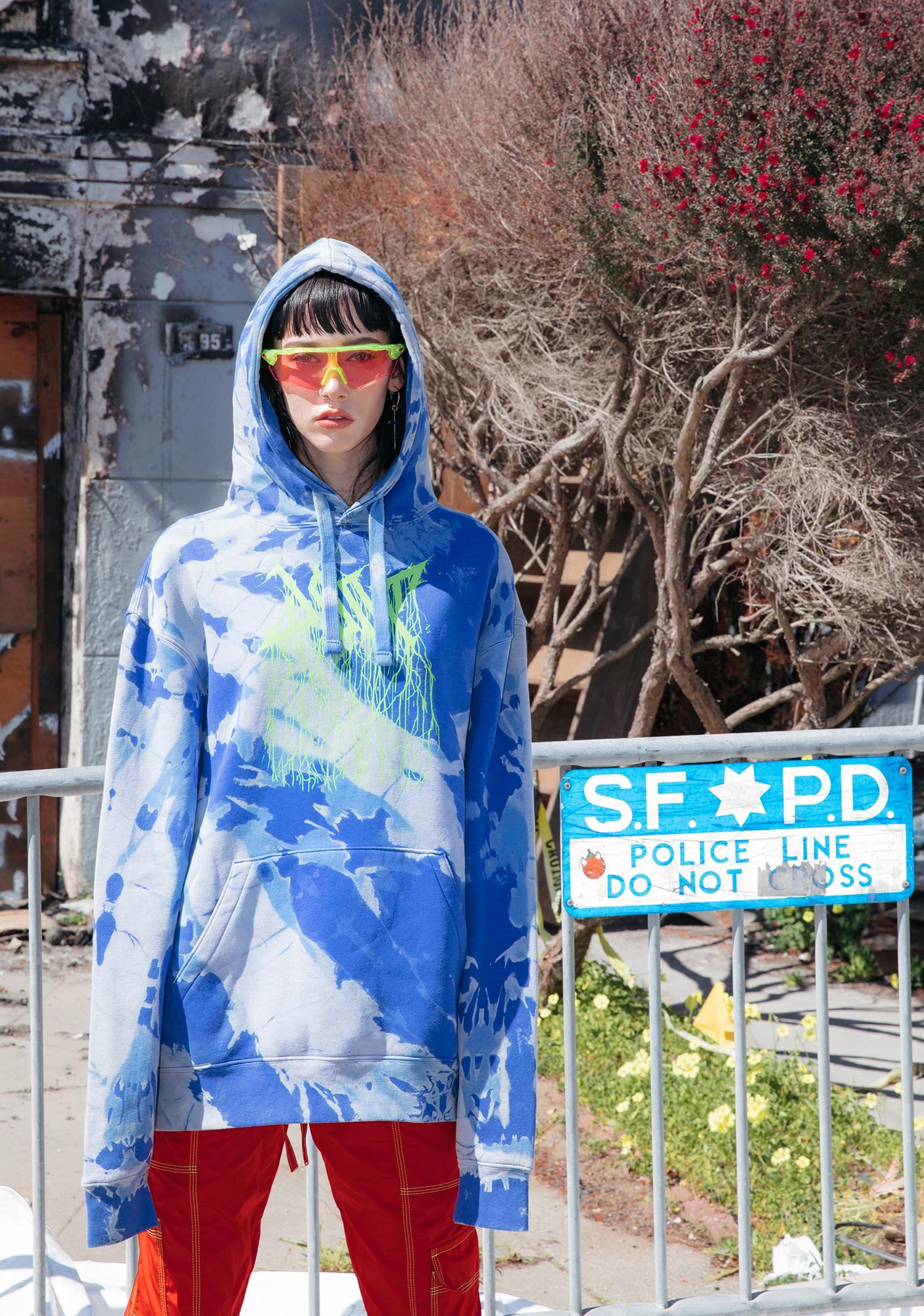 DOOM 3K Seapunk Hoodie Sweatshirt
