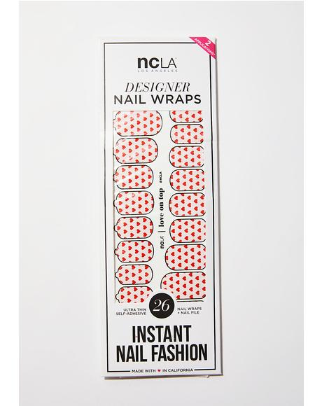 Love On Top Nail Wraps