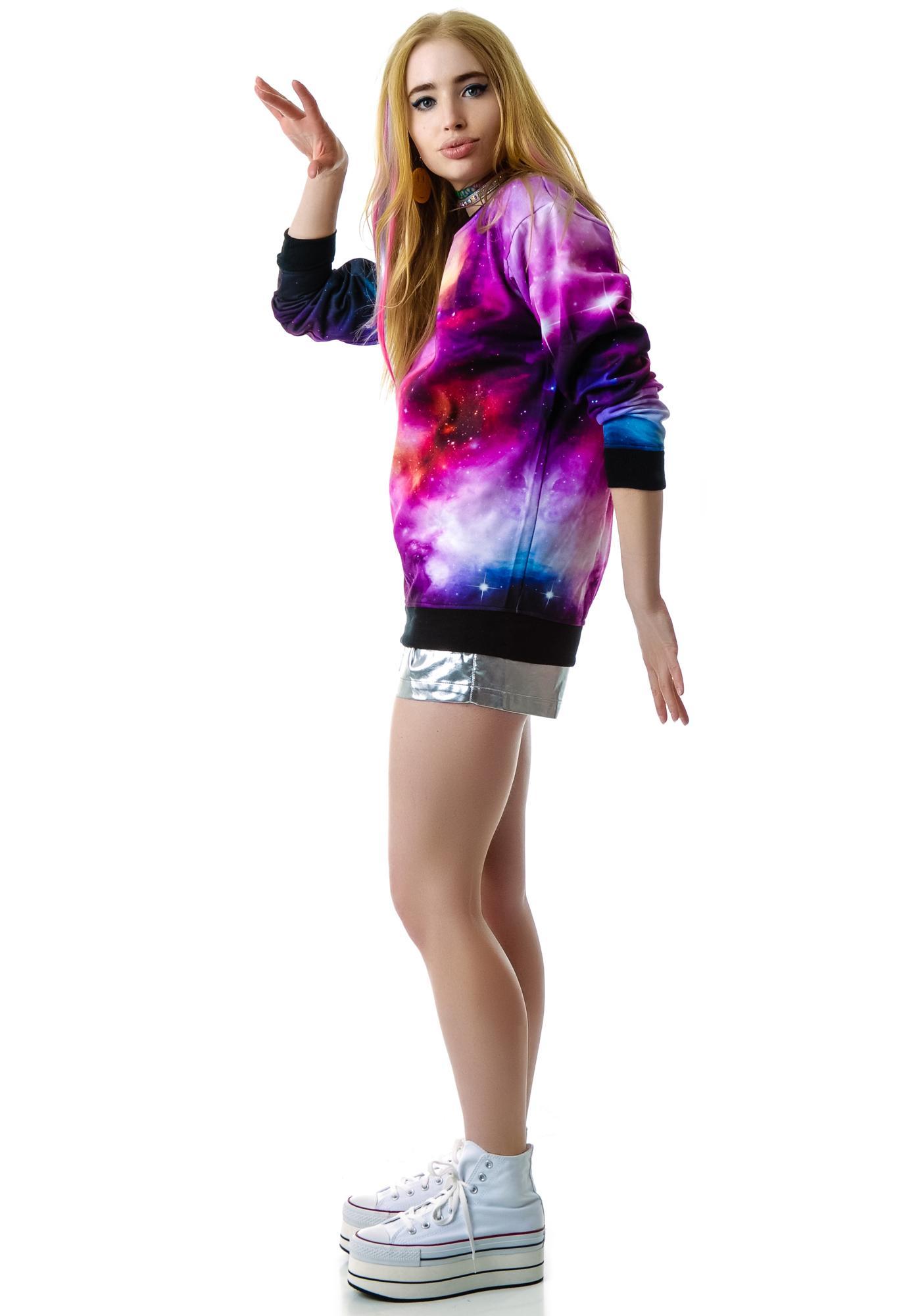 Killstar Galaxy Sweatshirt