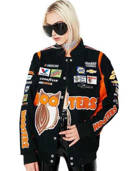 Chase Elliott Hooters Twill Jacket