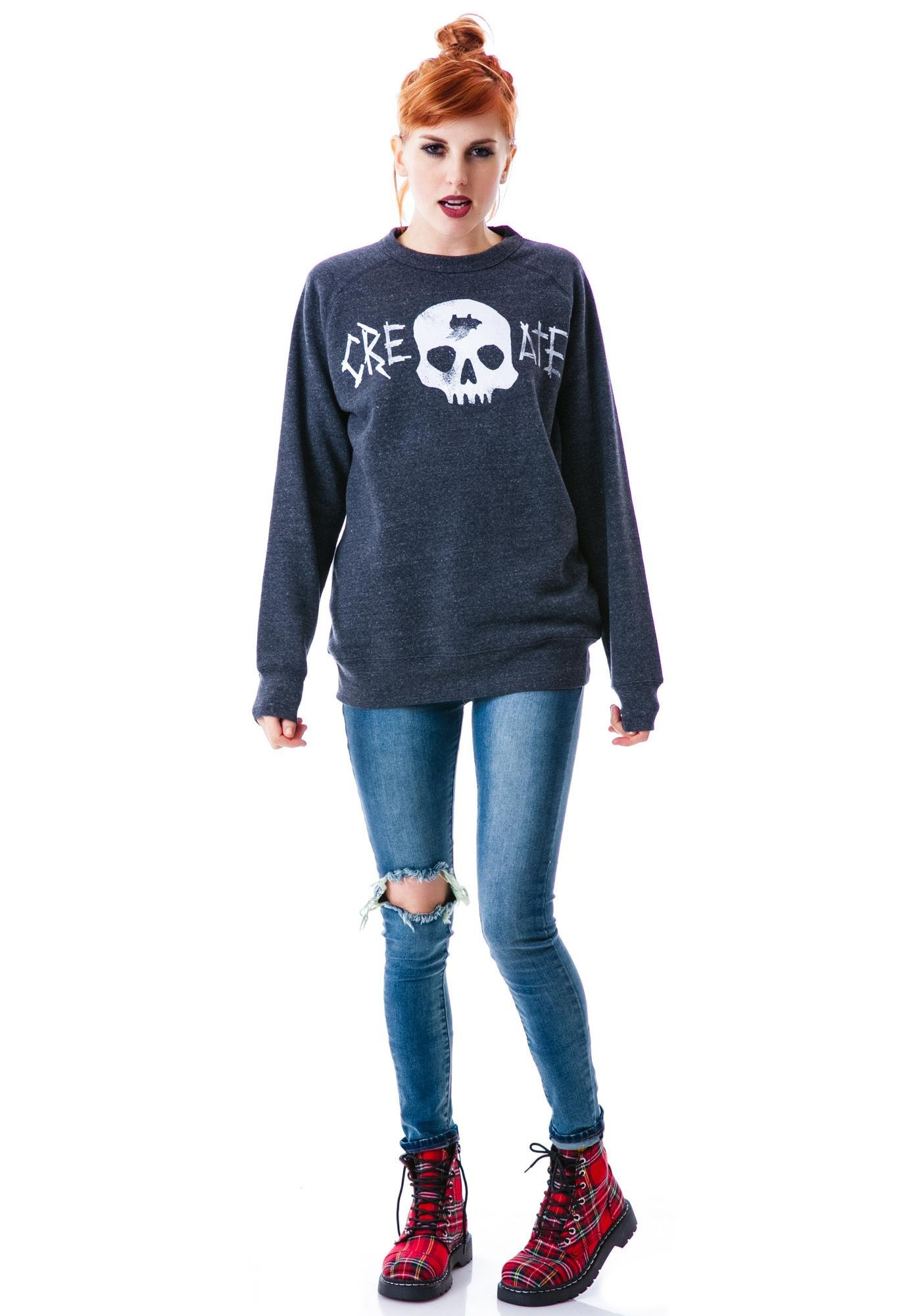Glamour Kills Use Your Head Crew Sweatshirt