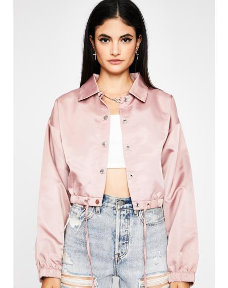 Baby Where U Goin' Cropped Jacket