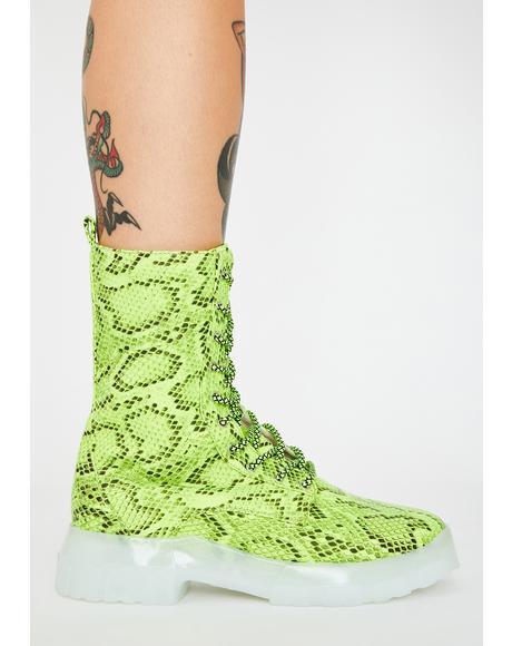 Atomic Aphrodite Platform Sneakers