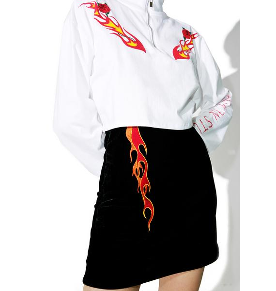 Stuck on Stupid Burning Skirt
