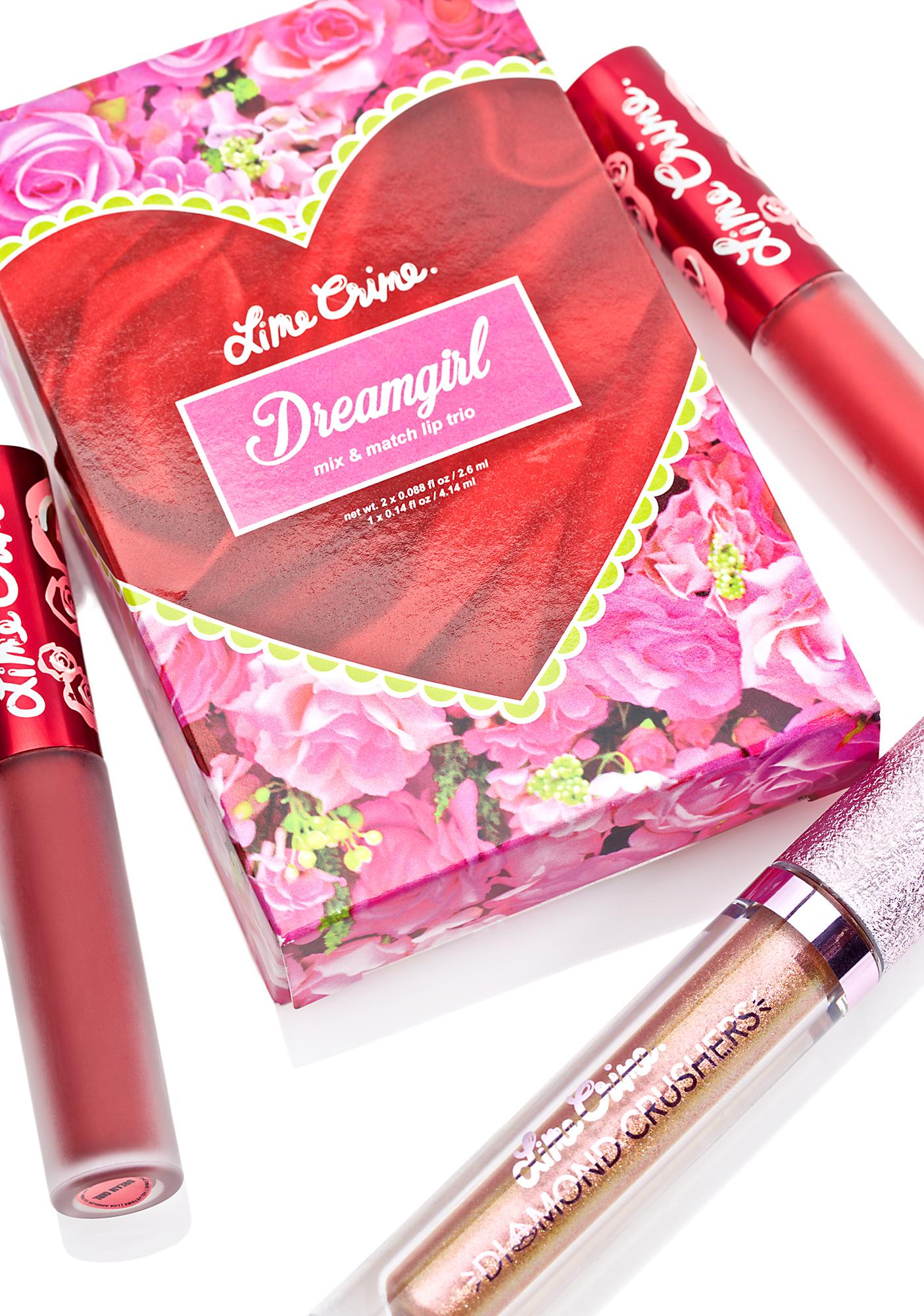 Lime Crime Dream Girl Trio Set