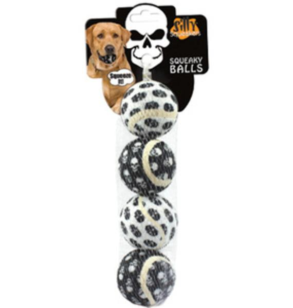 Skullhead Small Dog Tennis Ball