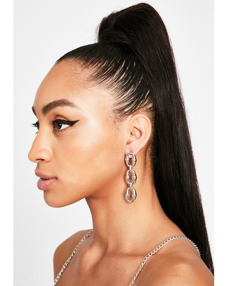 Poppin' Off Drop Earrings