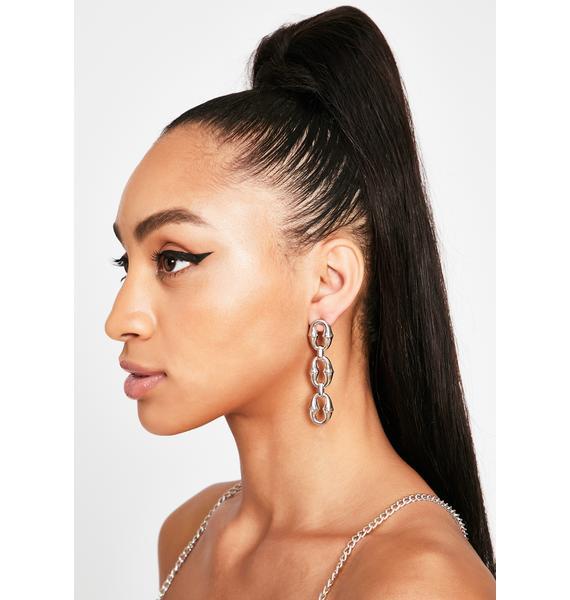 Poppin' Off Drop Earrings
