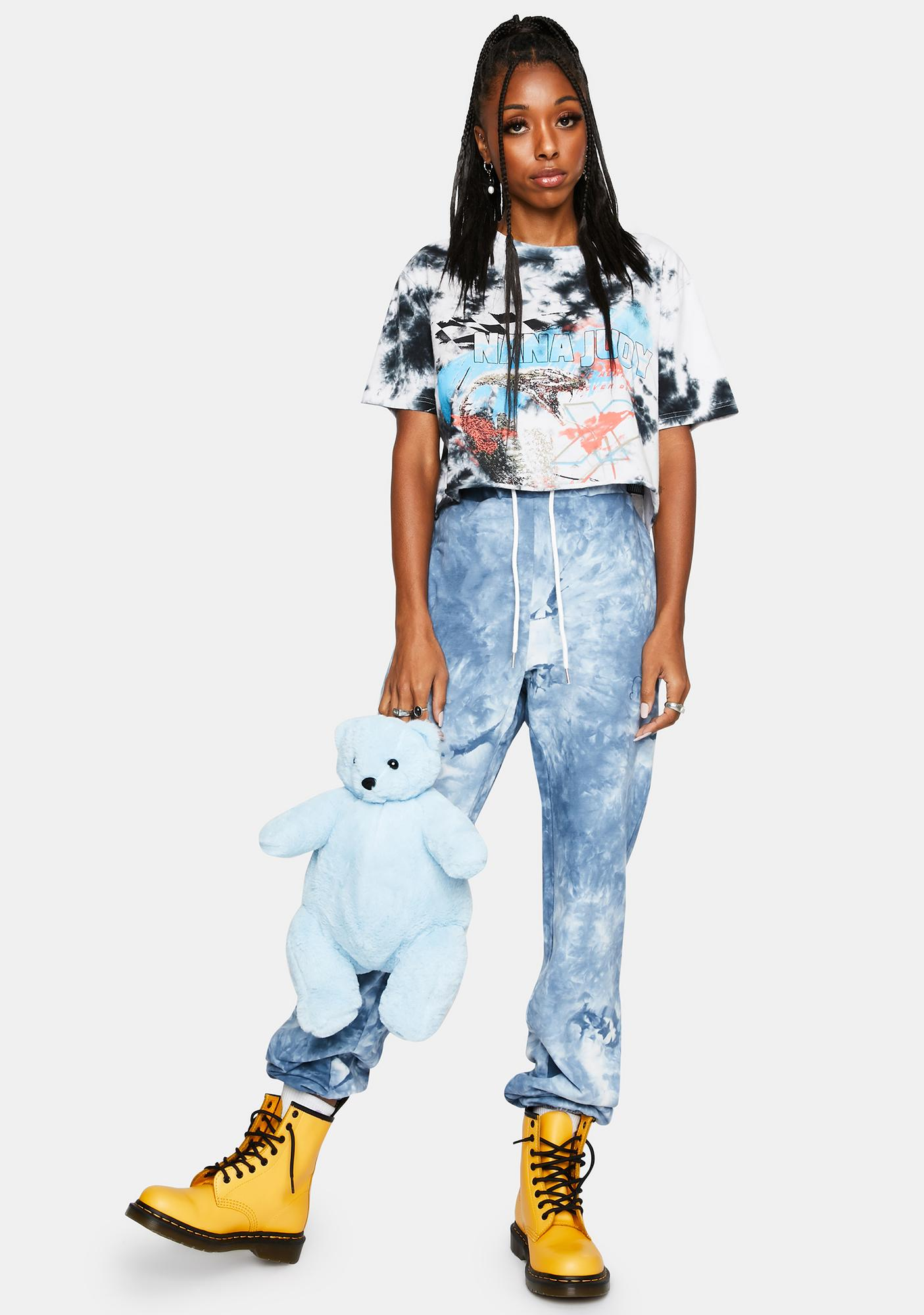 Nana Judy Tie Dye Authentic Track Pants