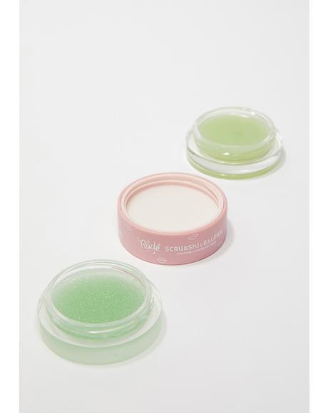 Mint Scrubski & Balmer Lip Exfoliator
