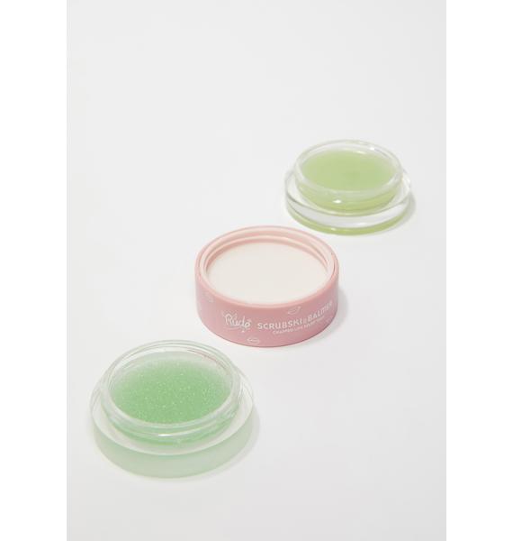 Rude Cosmetics Mint Scrubski & Balmer Lip Exfoliator