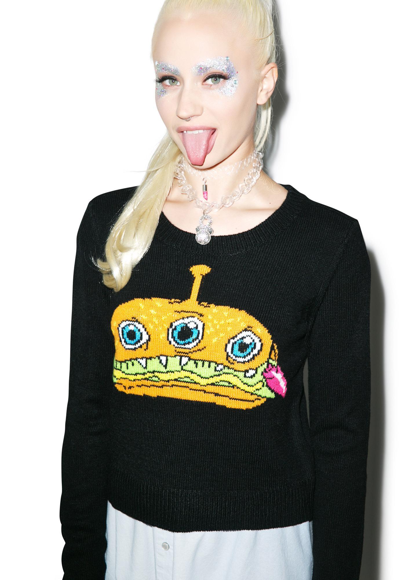 Iron Fist Finger Food Sweater