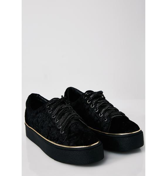 Fuzz Buzz Platform Sneakers