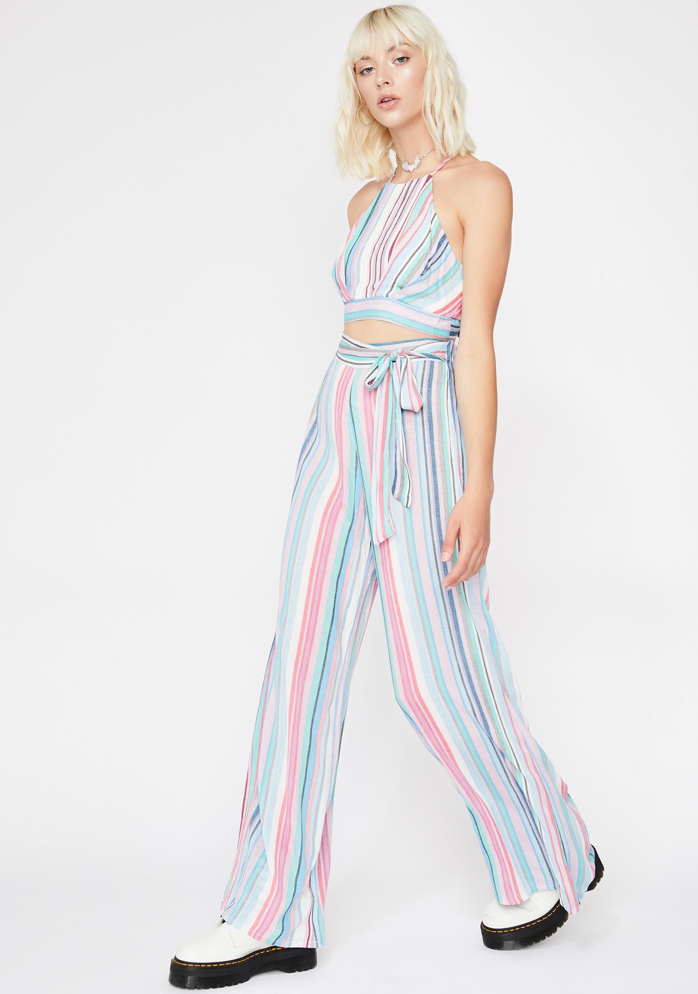 Lyrical Love Stripe Pants