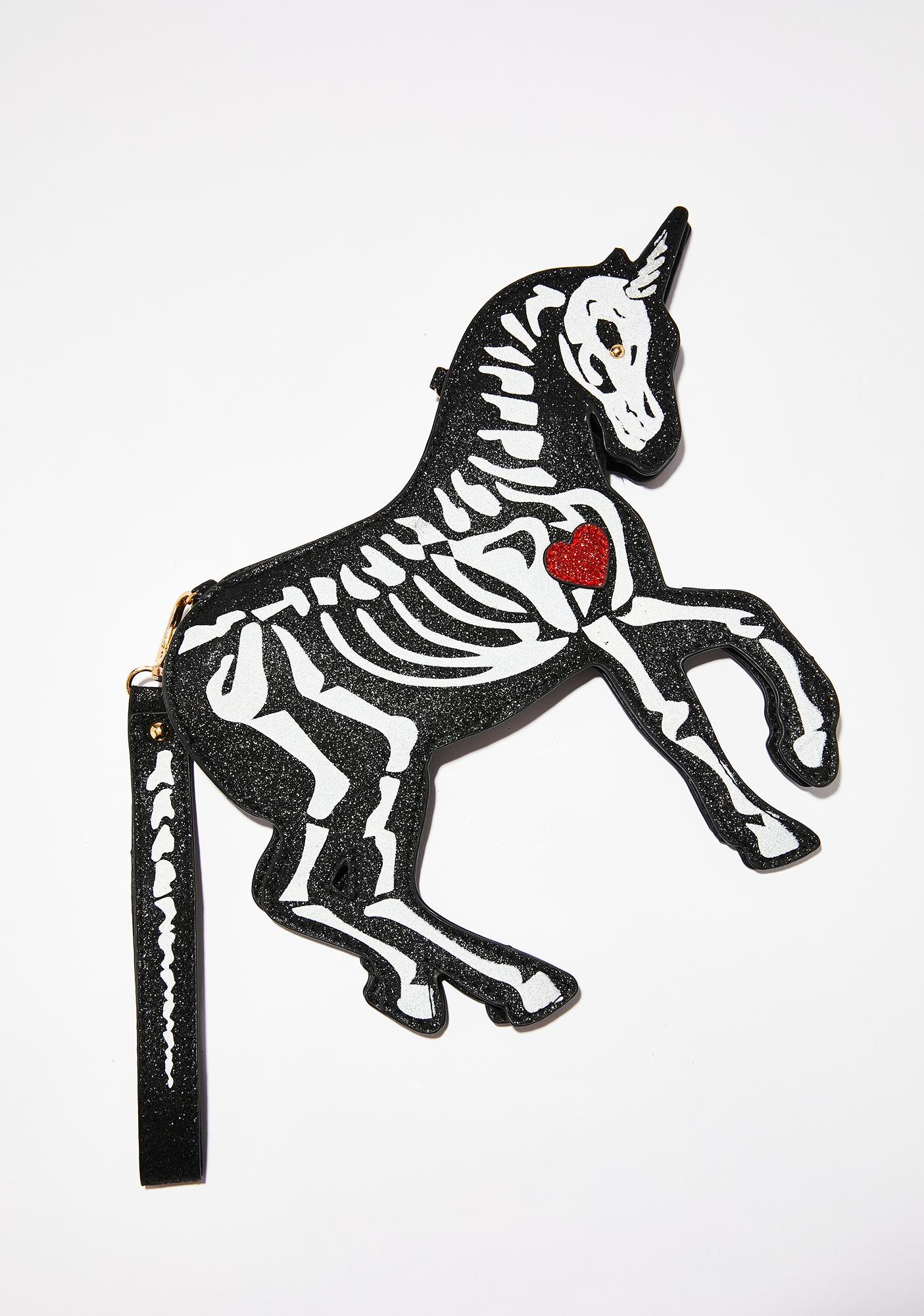 Dark Horse Skeleton Purse