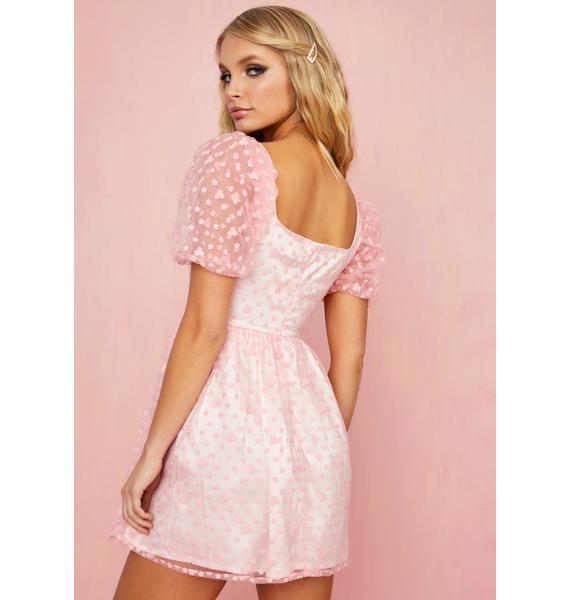 Sugar Thrillz Lust For Life Babydoll Dress