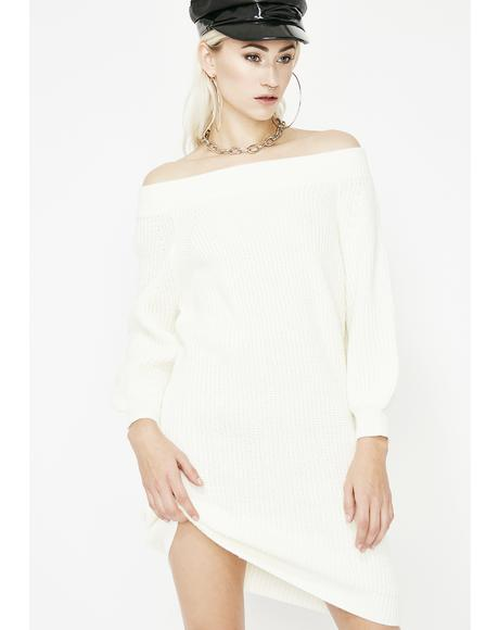 Dream Come Tru Sweater Dress
