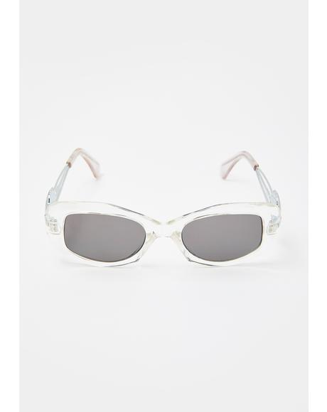 Ariel Clear Sunglasses