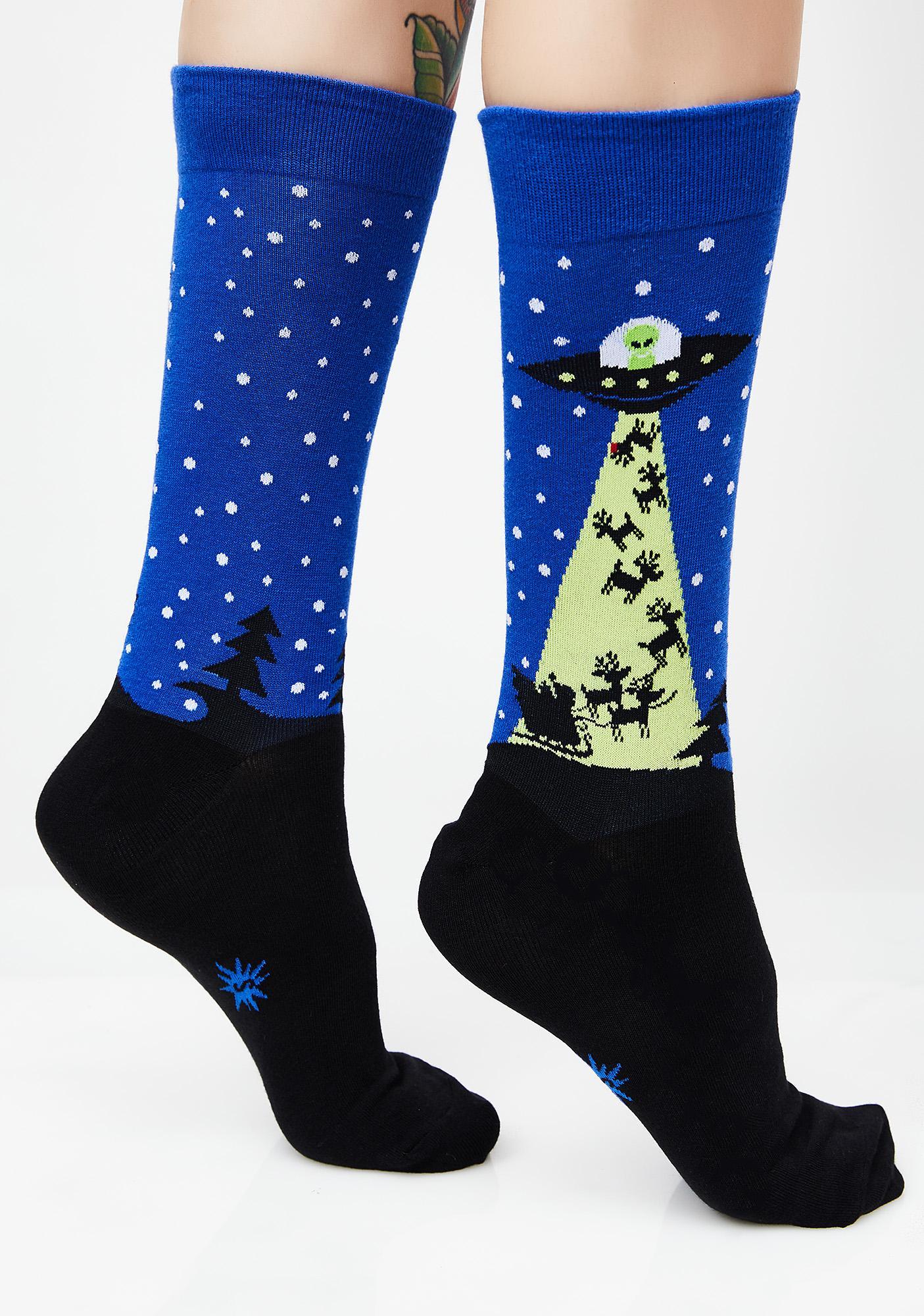 Stealin' Xmas Socks