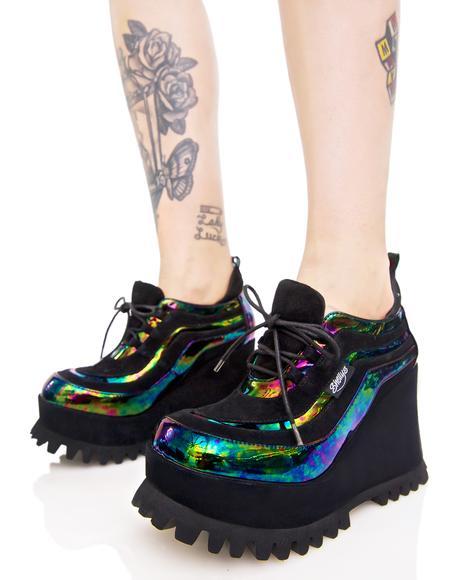 Oil Spill Ritchie Platform Sneaker
