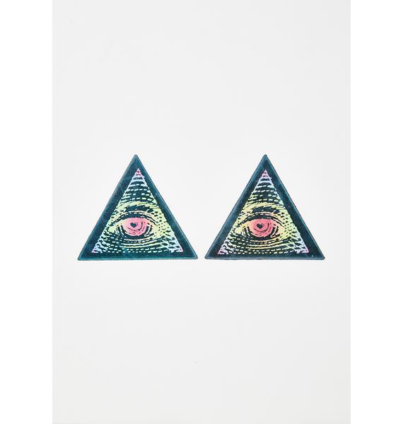 Pastease Rainbow Third Eye Pasties