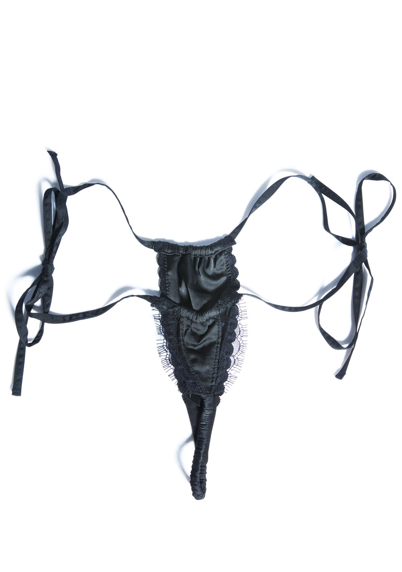 Widow Persephone Lace Mini Thong