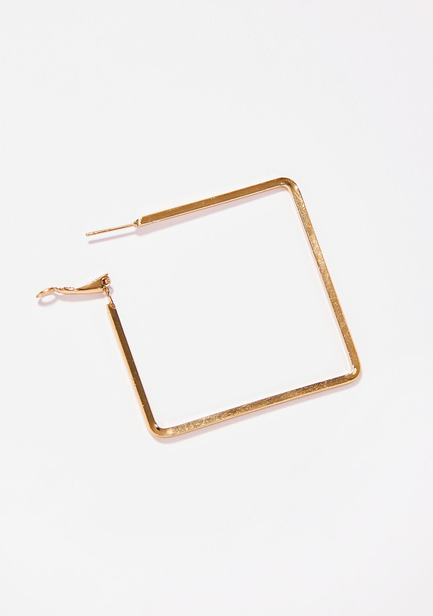 What's Ur Point Square Hoops
