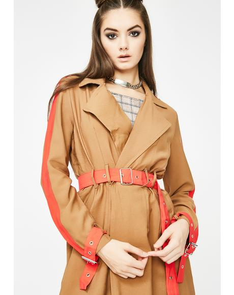 Spy Girl Trench Coat