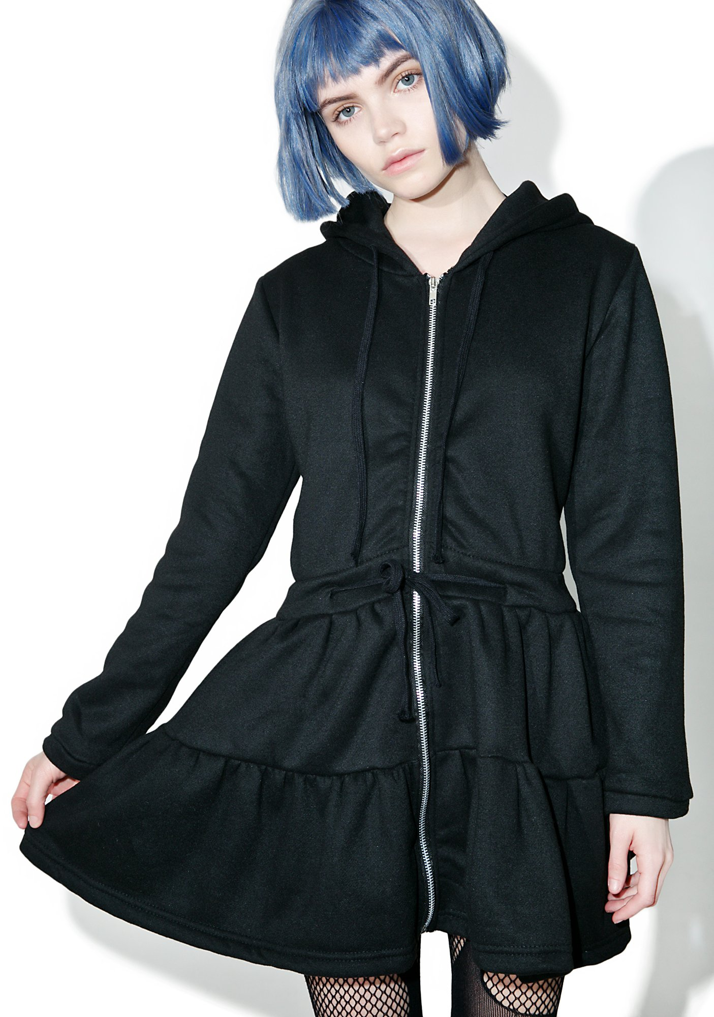 Bunny Ears Hood Dress