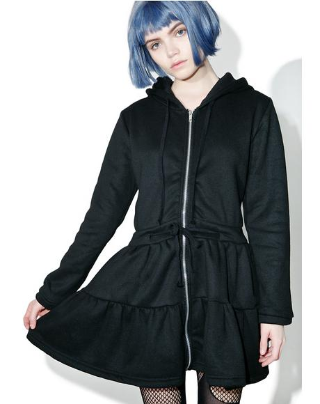 Jeez Louise Hooded Dress