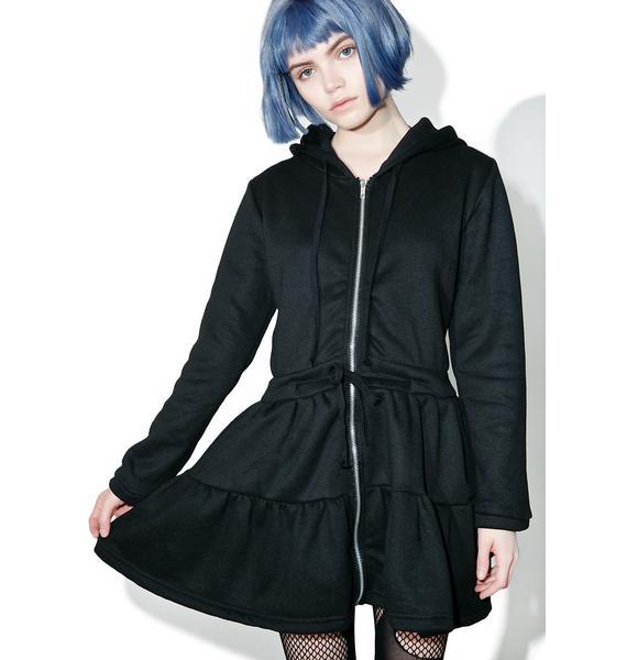 Jeez Louise Hooded Dress