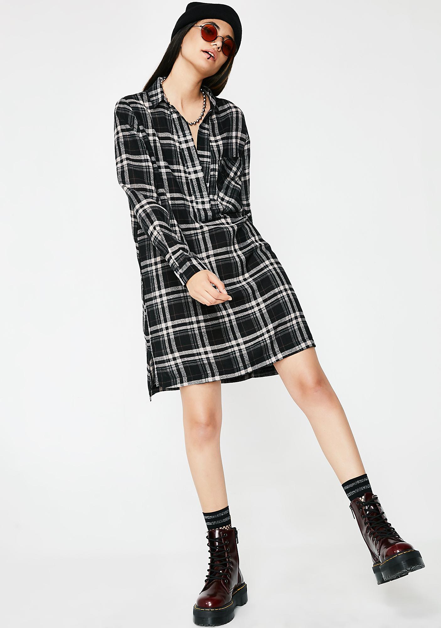 Lira Clothing Victory Plaid Dress