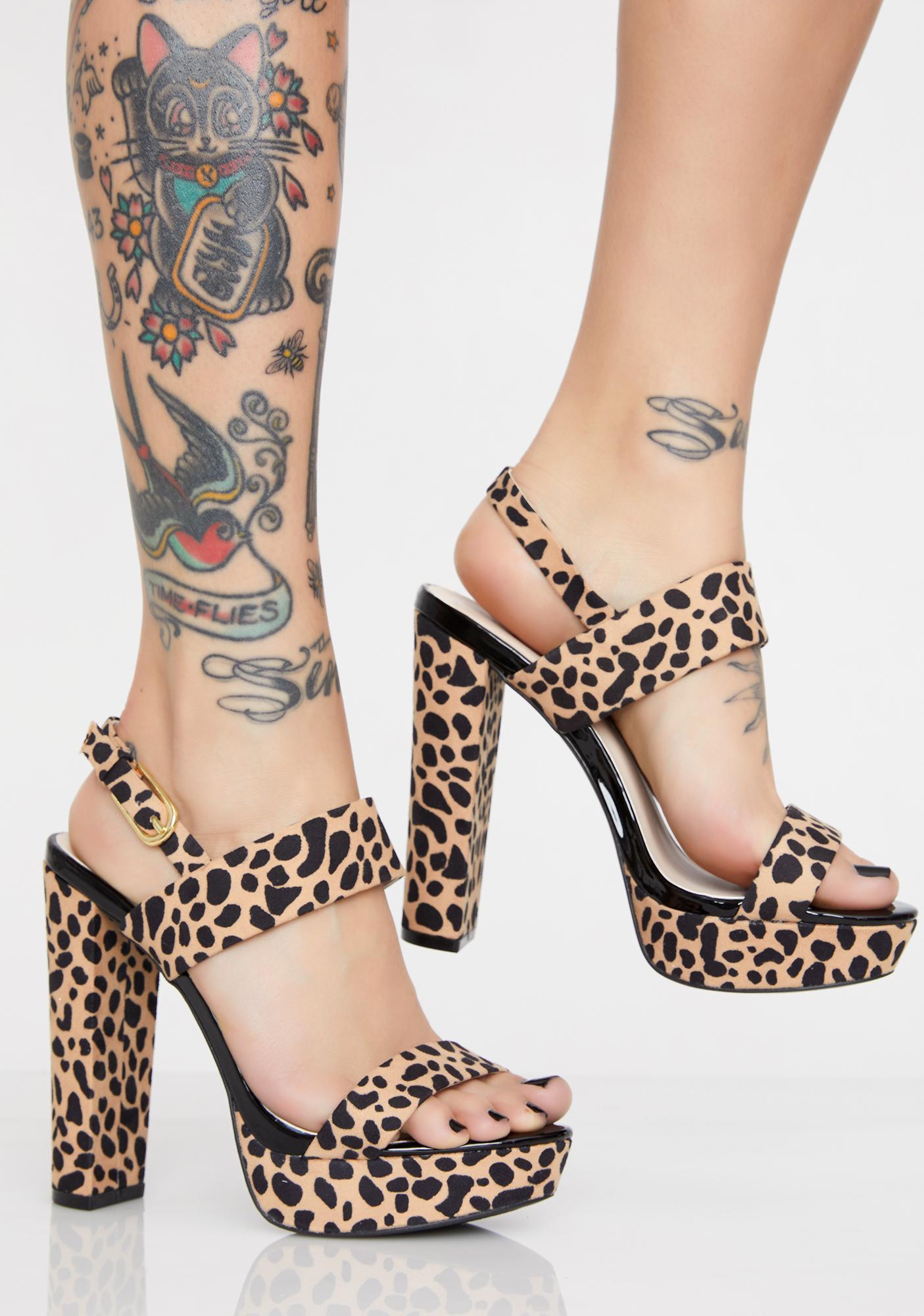Feline Pretty As Always Platform Heels