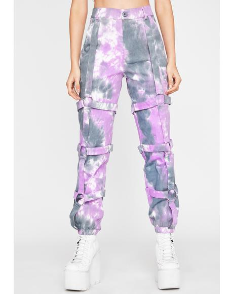 Grape Hellbound Honey Cargo Pants