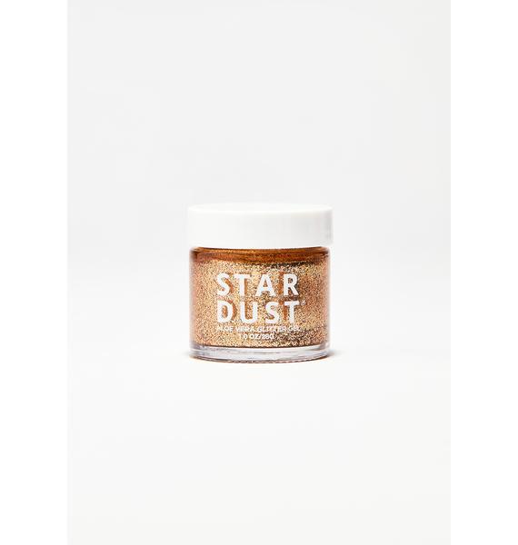 Lavender Stardust Bronze Glitter Gel Pot