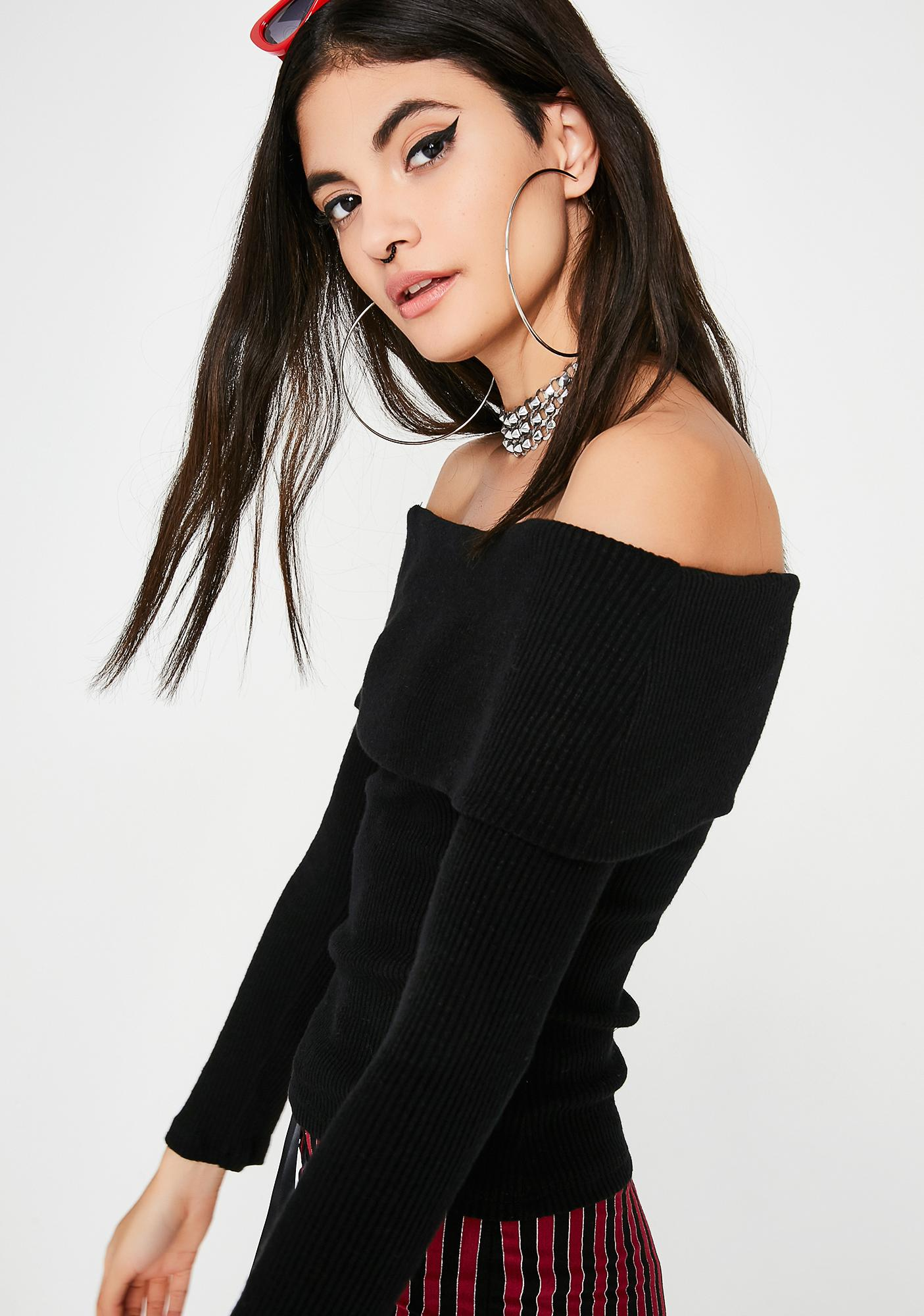 New Habits Off Shoulder Top