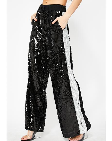 Hustle N' Flow Sequin Pants