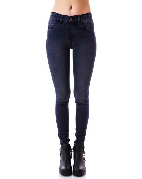 Volcanic Scarlett Jeans