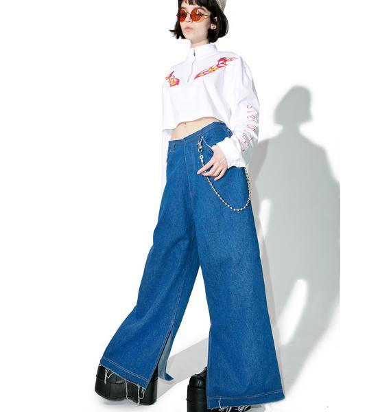 Stuck on Stupid Oversize Denim Pants