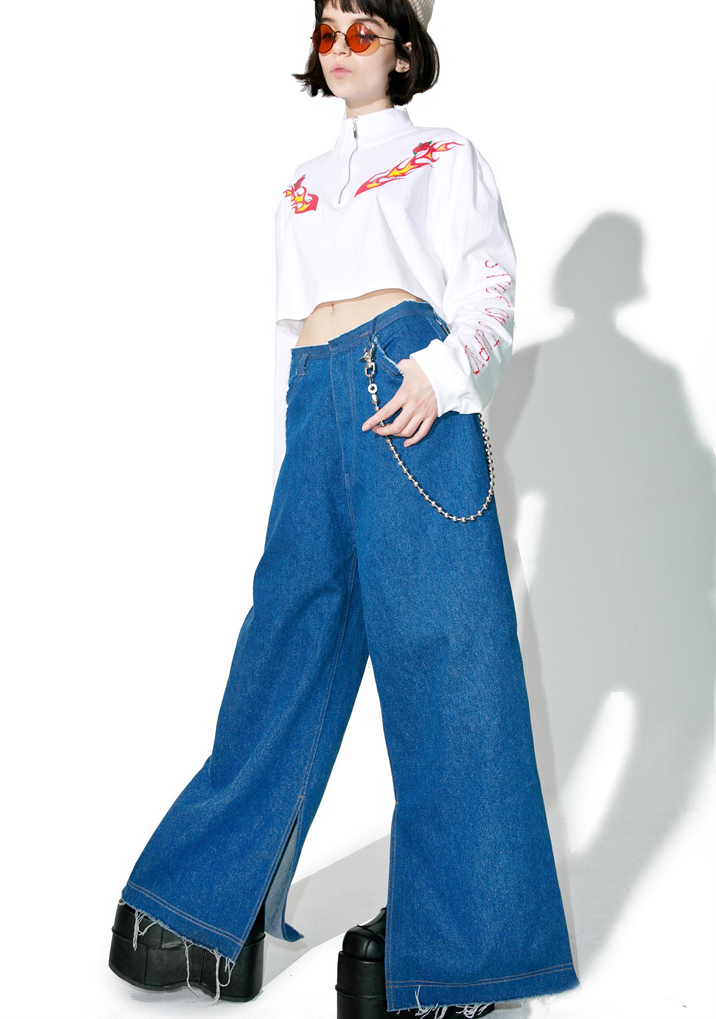 Stuck on Stupid Oversize Denim Pants