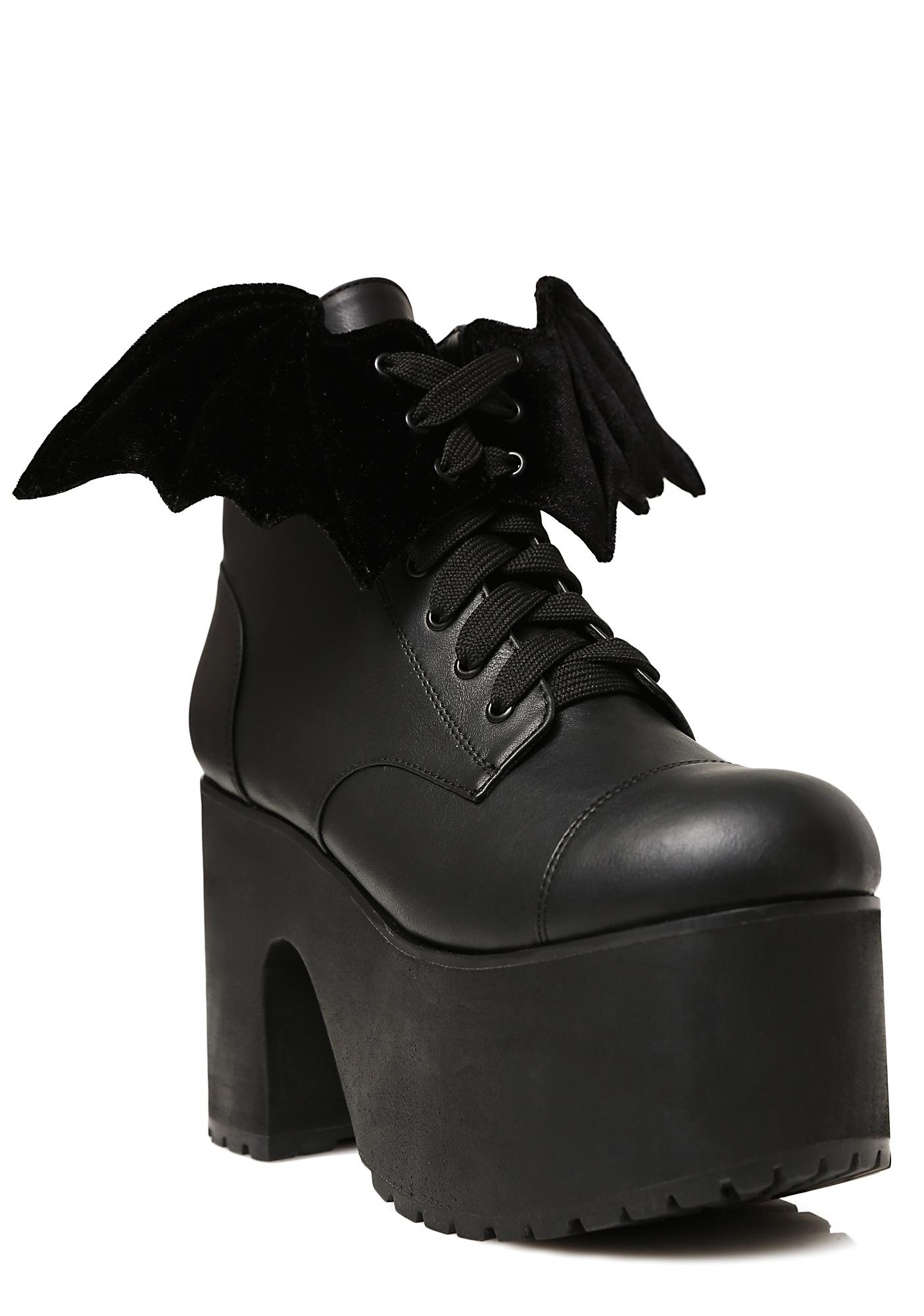 Current Mood Nocturnal Platform Boots