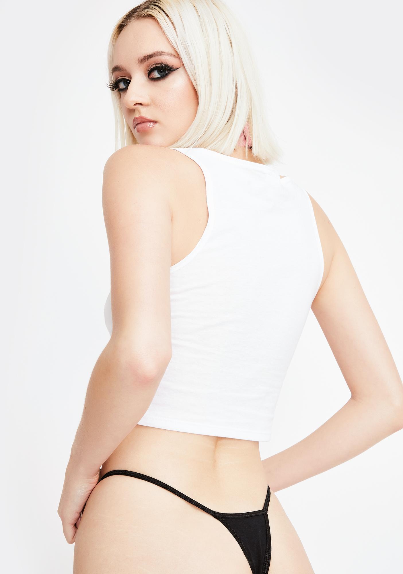 Geneva Diva That Bitch Graphic Thong